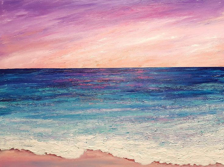 Sunrise Seascape (2017) | SOLD