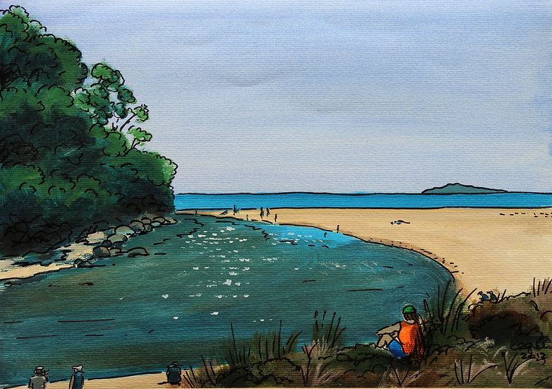 Hot Water Beach II (2012) | SOLD