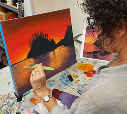 Sunset Rocks workshop in New Plymouth