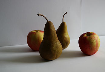 apples and pears for Charlotte Giblin drawing tutorial