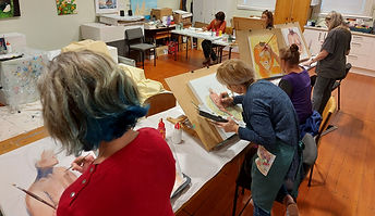 Figure and Face workshop in Whitianga with Charlotte Giblin