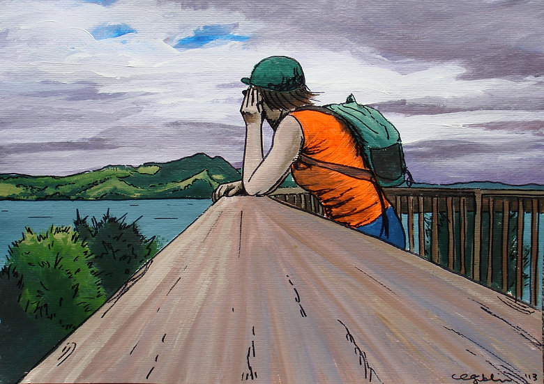 Shakespeare Cliff Lookout (2013) | SOLD