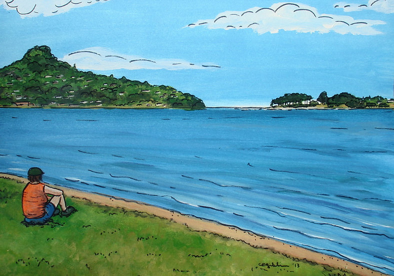 Paku from Tairua | SOLD
