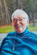 portrait commission by Charlotte Giblin _ Jane Madsen