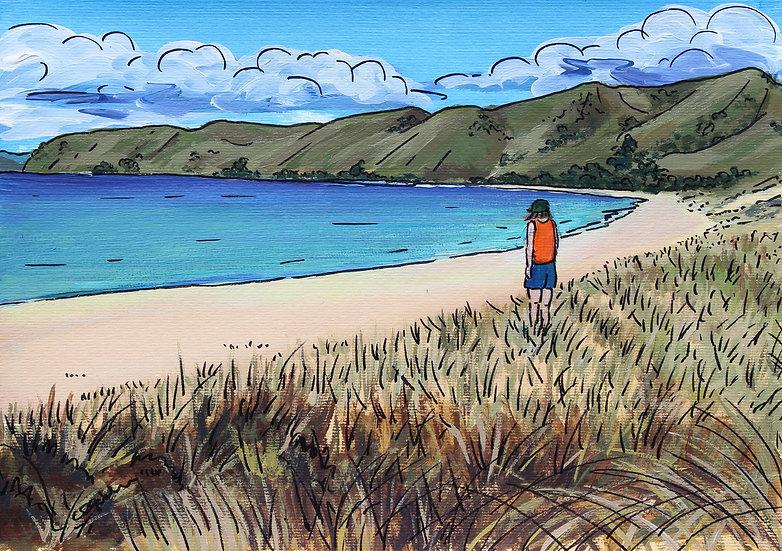 Otama Beach (2014) - with no mat board or frame