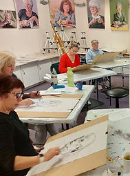 Life Drawing workshop in New Plymouth with Charlotte Giblin