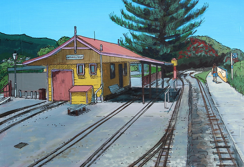 Grahamstown Railway (2014) | SOLD