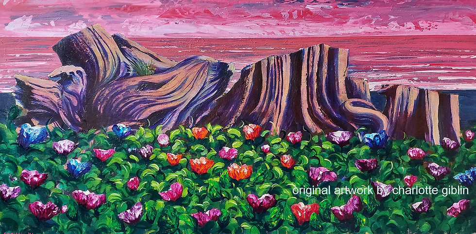 Beached - in Bloom (2021) | SOLD