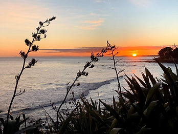 Sunrise New Plymouth - image by Andrea Hunt