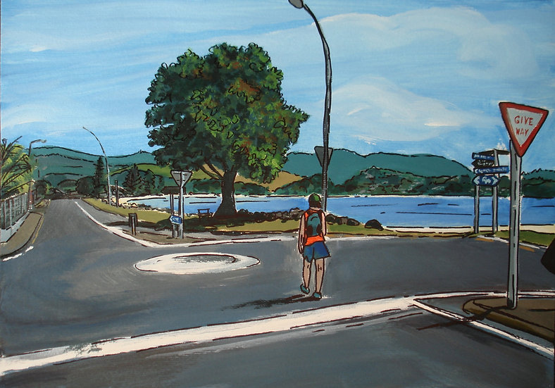 Buffalo Beach Road (2013) - with no mat board or frame