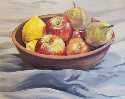 still life painting, C Giblin, New Plymouth, art class, painting class, art workshops, taranaki