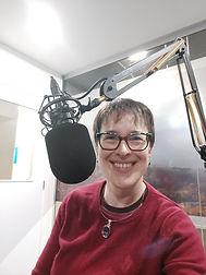 Charlotte Giblin at Access Radio Taranaki July 2021