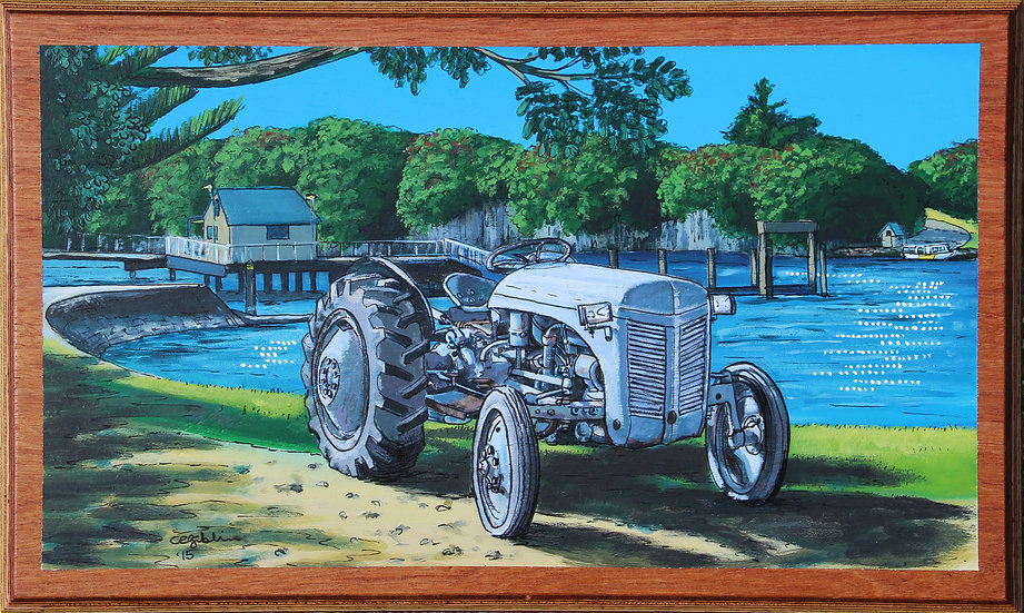 Tractor Commission | SOLD