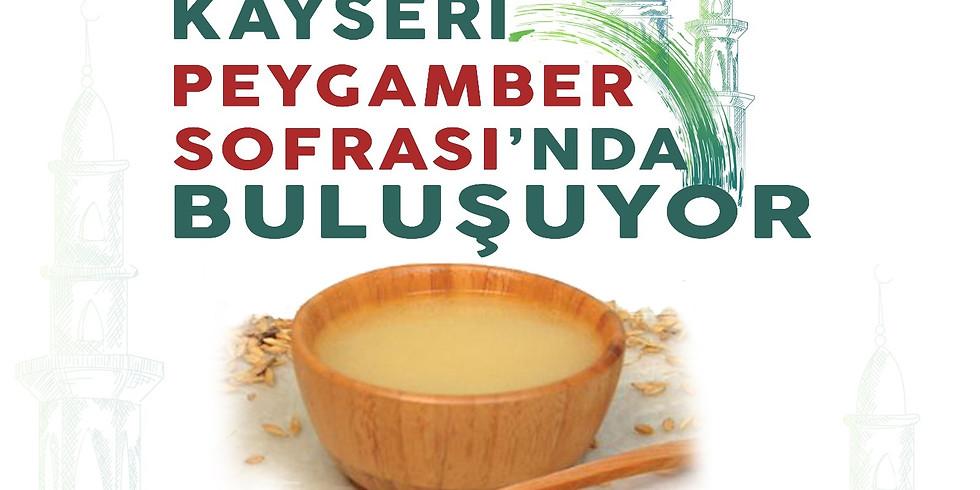 İFTAR - PEYGAMBER SOFRASI - 19 MAYIS @kayseriyardim