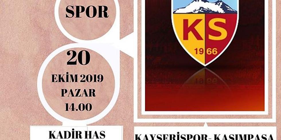 KAYSERİSPOR - KASIMPAŞA