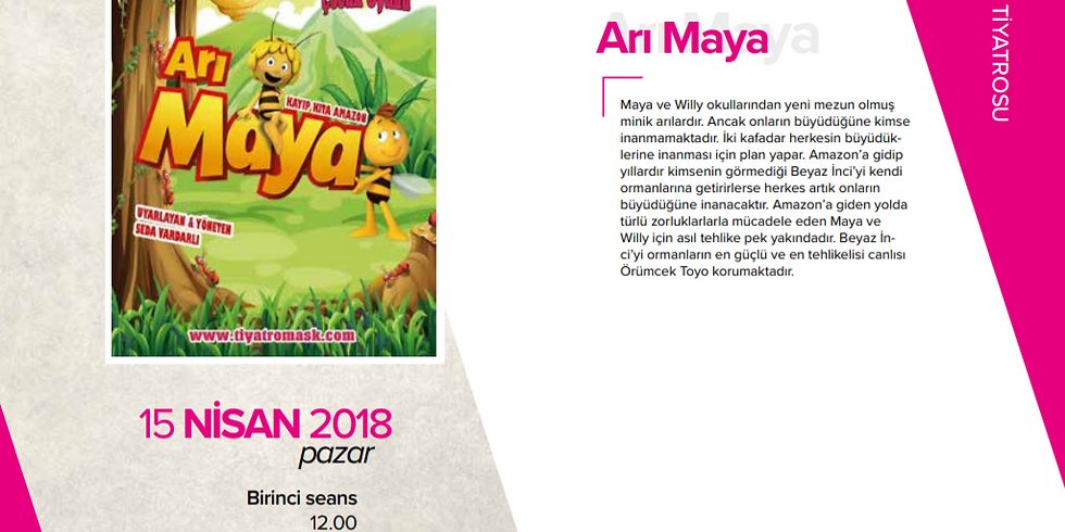 Arı Maya - Çocuk Tiyatrosu
