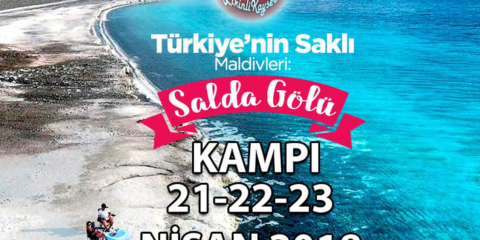 SALDA GÖLÜ KAMPI - 21-23 NİSAN 2018