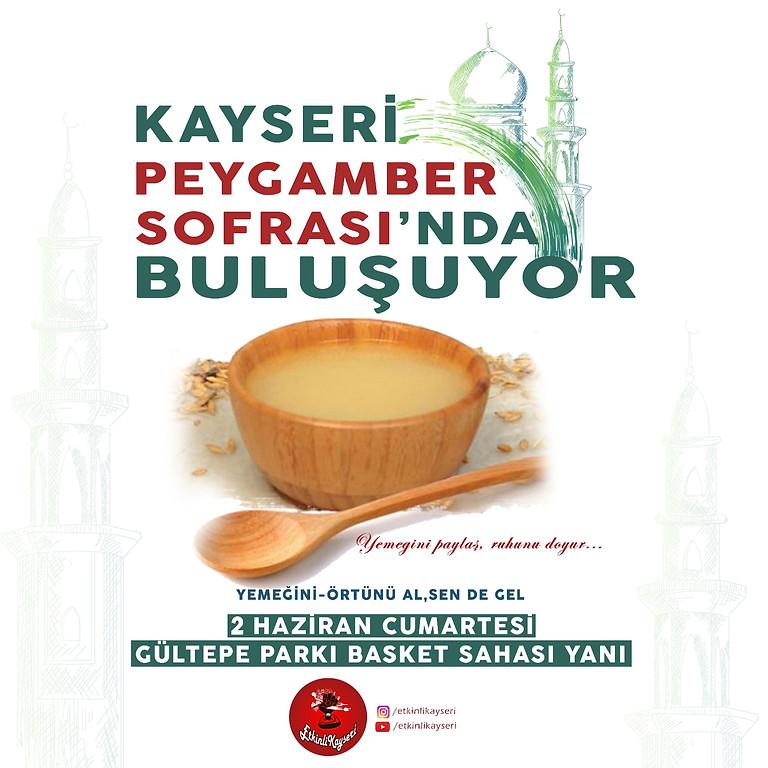 GÜLTEPE PARKI İFTAR - PEYGAMBER SOFRASI - 02 HAZİRAN 2018 CUMARTESİ
