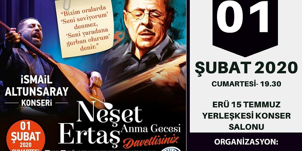 İSMAİL ALTUNSARAY KONSERİ