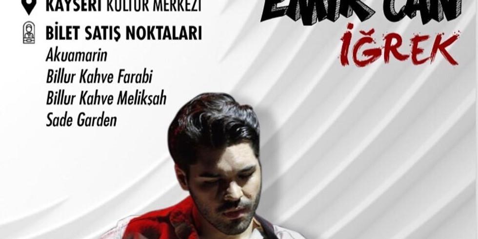 EMİR CAN İĞREK KONSERİ 27 NİSAN - @gezginmusic