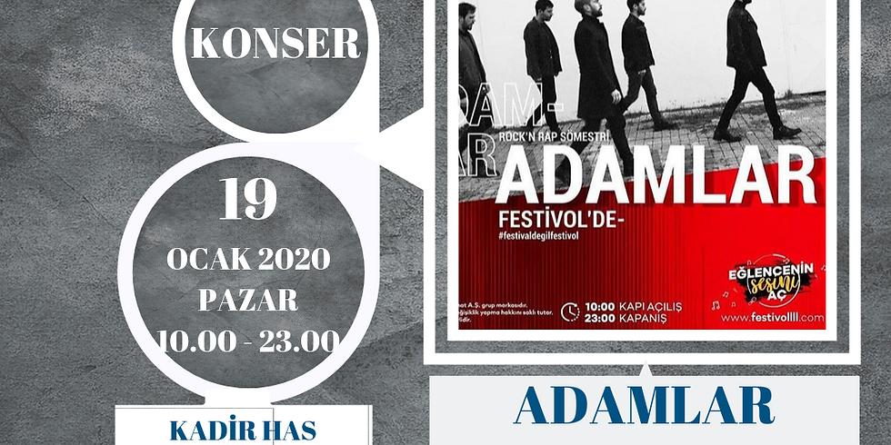 ADAMLAR - FESTİVOLL