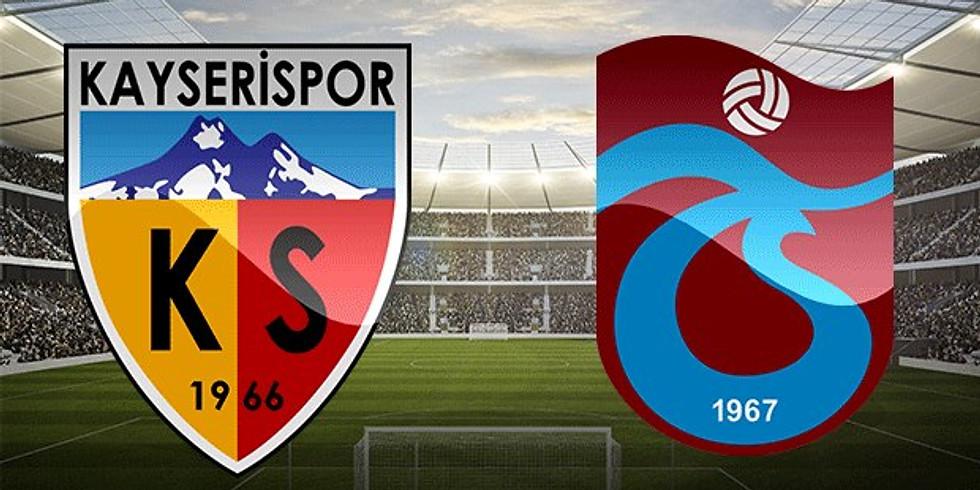 Kayserispor - Trabzonspor 1 aralık cumartesi