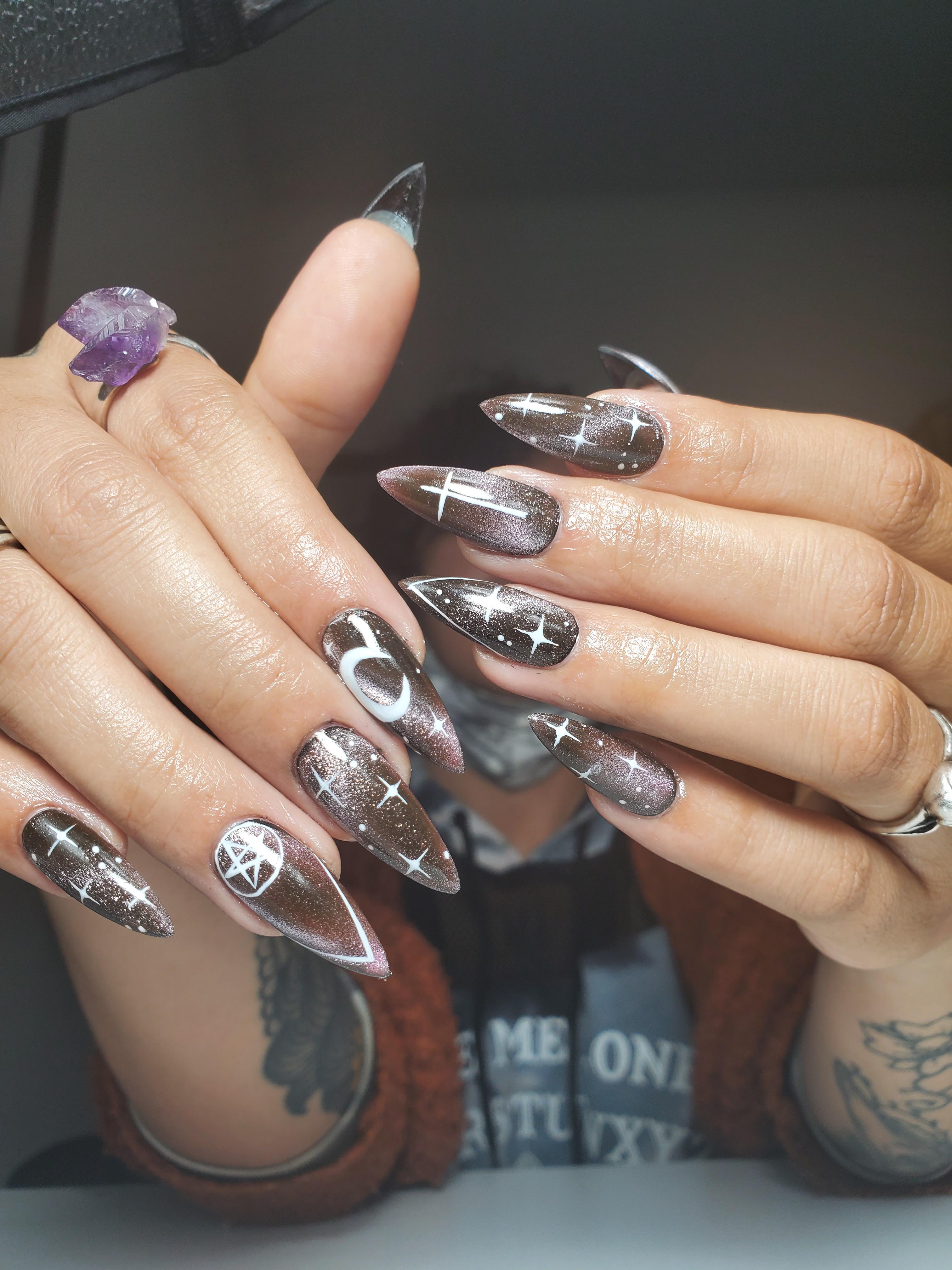 Gel-X w/Complex Nail Art