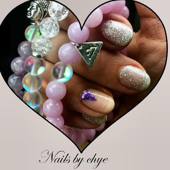 Soft Gel Manicure w/Simple Nail Art
