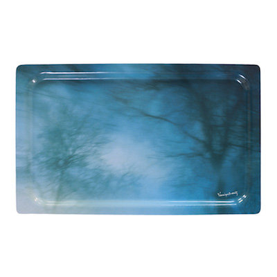 """Blues, Paysage Émotionnel 3"" Tray"