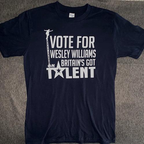 VOTE FOR WESLEY ON BGT T-SHIRT!