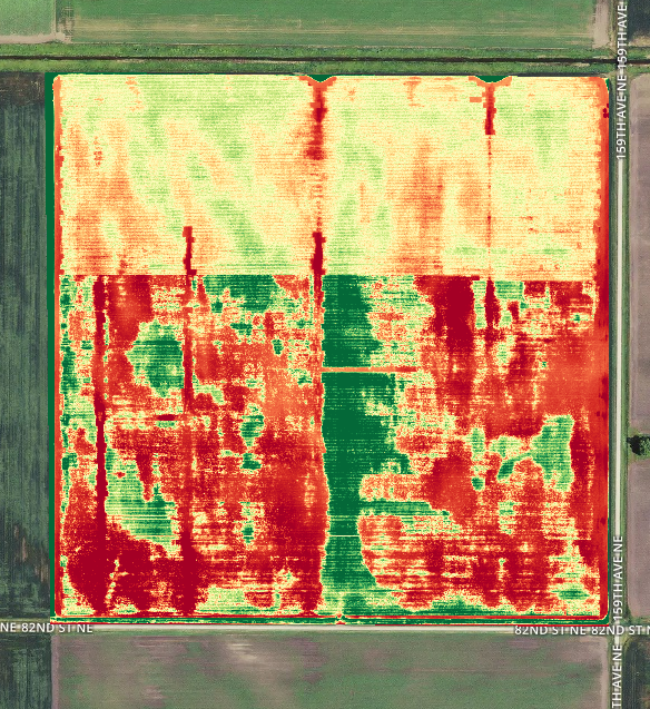 Agriculture Heat Mapping