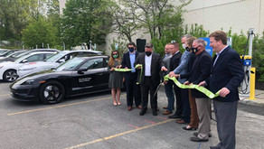 Crossgates & Livingston Host EV Charging Grand Opening, Lia, Nemer, and New Country Porsche Join.