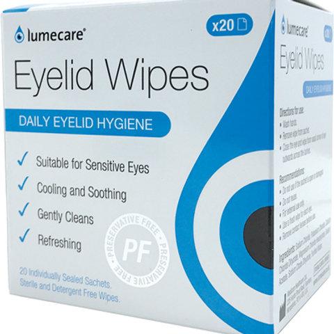 Lumecare Eyelid Wipes