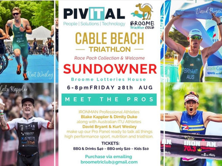 Pivital Cable Beach Triathlon