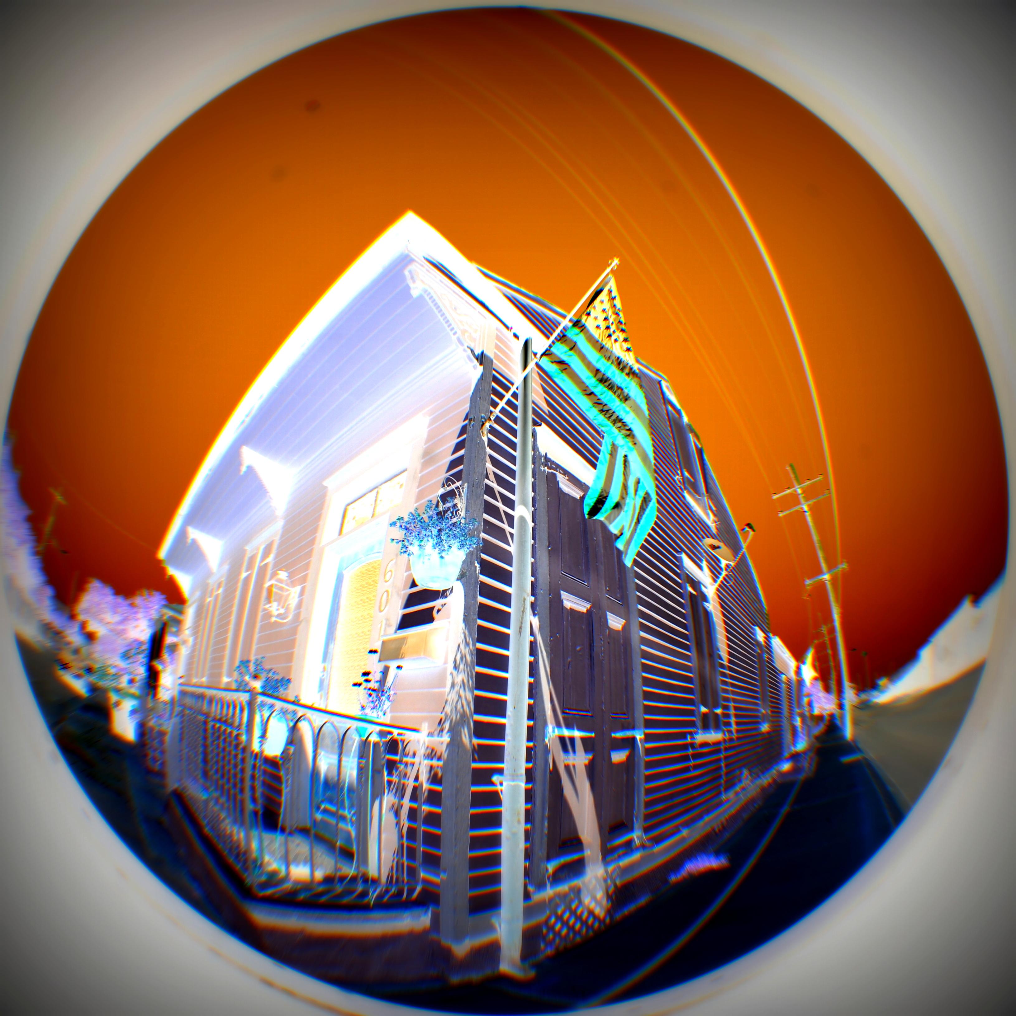 New Orleans Fisheye House