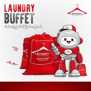 Laundry Buffet Menu in our Laundry Service