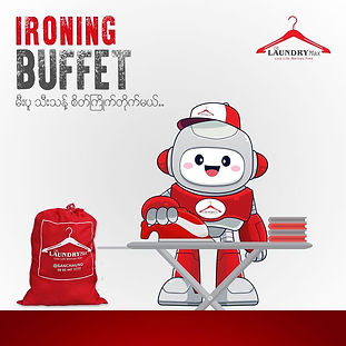 Ironing Service named Ironing Buffet