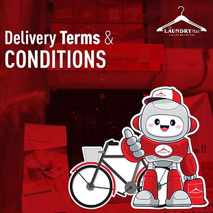 Our Laundry's Delivery Terms & Conditions