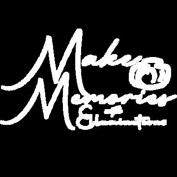 Make Memories Logo with Camera and name