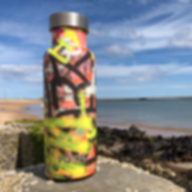 Graffiti Water Bottle