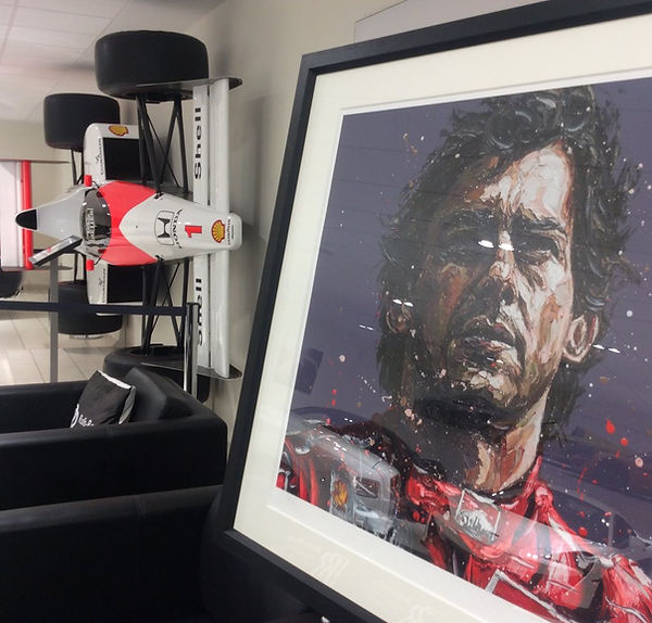 Paul Oz - Senna - McLaren - August 2018.
