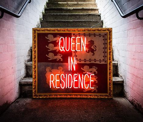 Queen In Residence Punk Neon