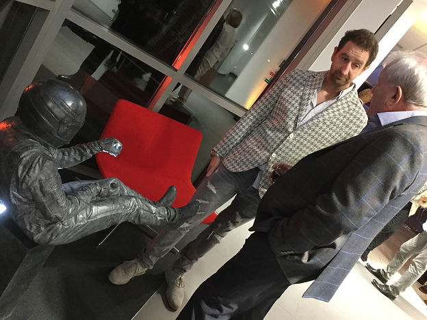 Paul Oz with Guest at McLaren Manchester