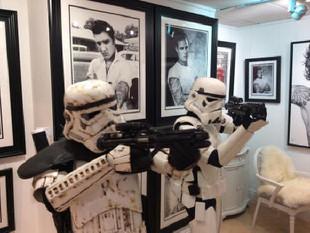 Star Wars inspired exhibition