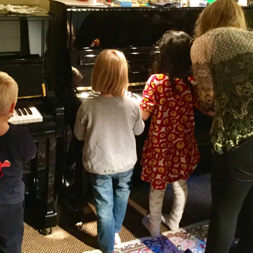 Young pianists