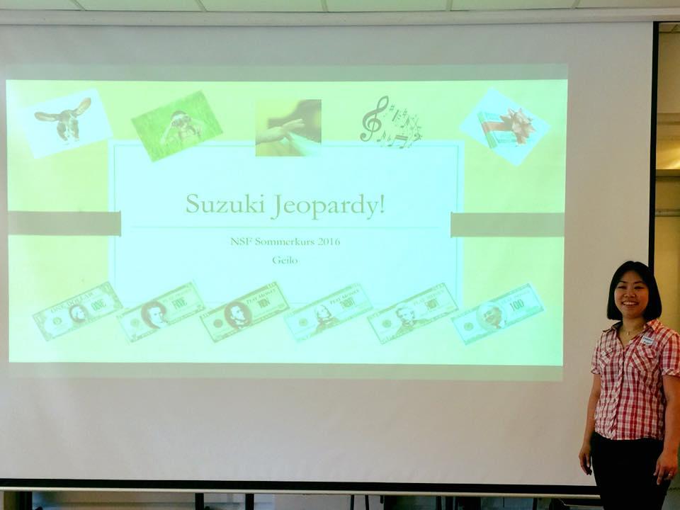 Suzuki Jeopardy Geilo