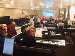 10 piano ensemble