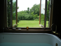 A Soaking Tub with a View