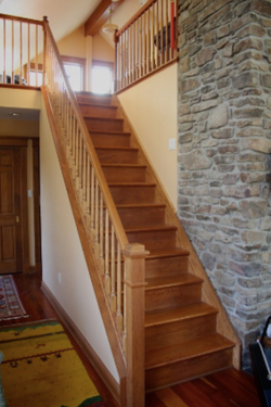 Steps to the Loft