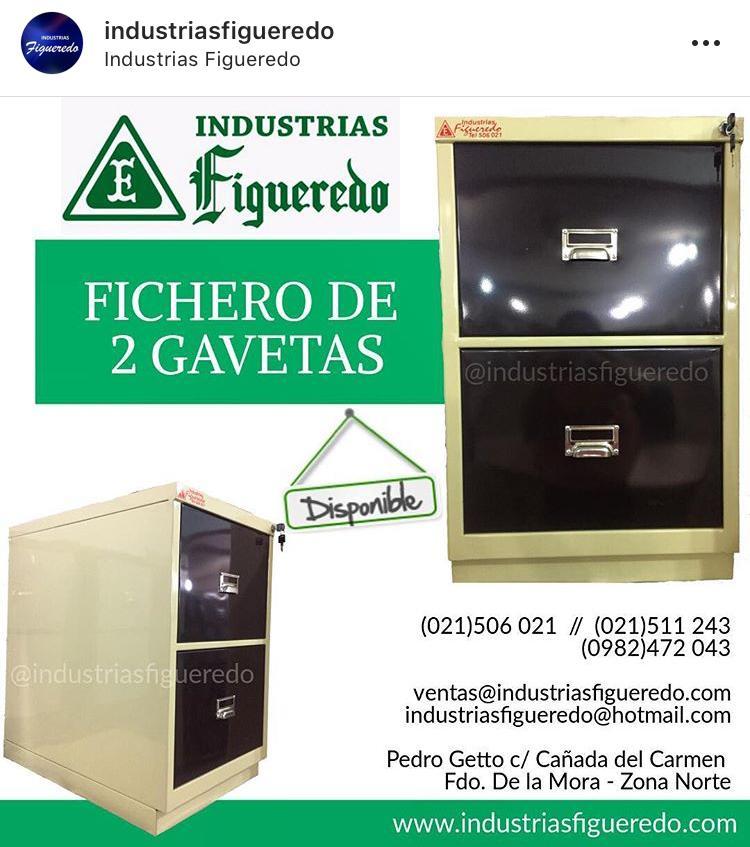 FICHERO DE 2 GAVETAS